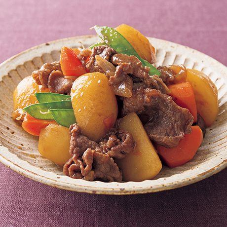 味しみ肉じゃが   藤井恵さんの肉じゃがの料理レシピ   プロの簡単料理レシピはレタスクラブニュース