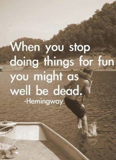 SydesJokes: Earnest Hemingway Quote
