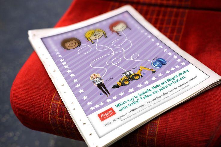 Argos Toy Advertising - Student Brief - Magazine Advert