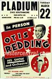 Otis Redding Poster: Movie Posters, Red Posters, Picture-Black Posters, Posters Vintage Movie, Concerts Posters Vintage, Posters Illustrations