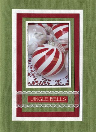 Christmas card using Darkroom Door Yuletide Montage and Wordstrips.