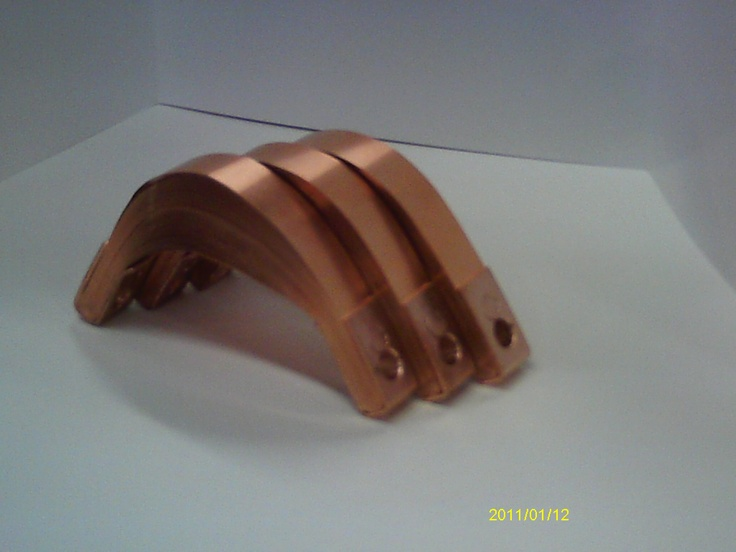 Shunt Welding Cables : Copper laminated shunts for switchgear transformers