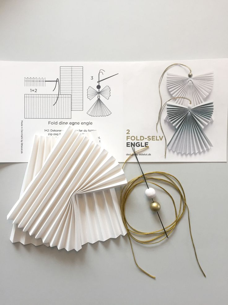 DIY angels, designed by Littlelot Designstudio, Charlotte Søeborg Ohlsen