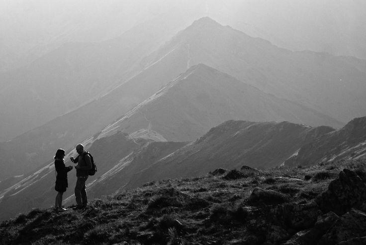 Mountain sunset by Tomasz Konopczyński on 500px