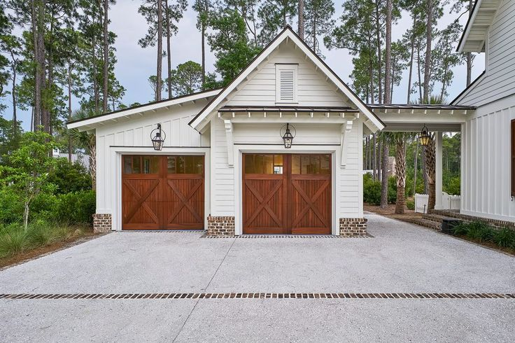Two car garage garage farmhouse with garage black outdoor wall lanterns