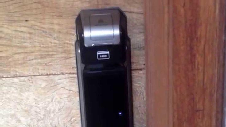 Fechadura Eletrônica Samsung Shs p718 Push Pull - Fechaduras Especiais