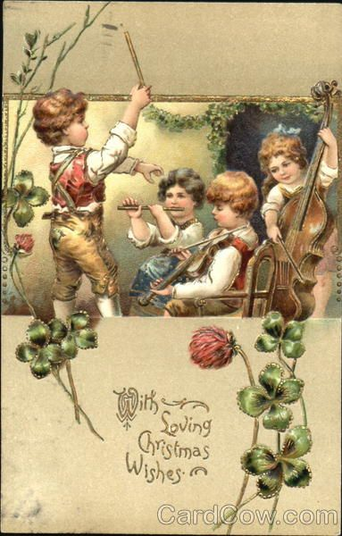 1907 Irish Xmas Greetings