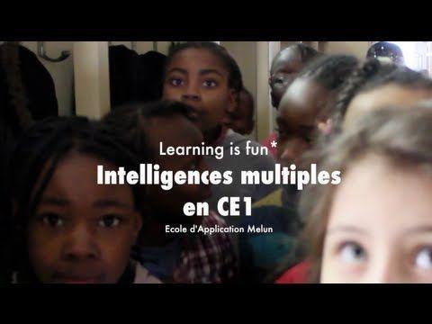 """Comment une enseignante en CE1 met en oeuvre la méthode des """"intelligences multiples"""" pour traiter de la description. Merci à Véronique Garas et à Catherine Lacoste. """"Learning is fun"""" est une série de vidéos courtes témoignant des actions innovantes dans l'école."""