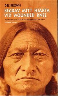 Begrav mitt hjärta vid Wounded Knee är en av de verkligt klassiska indianskildringarna. När boken först utkom 1970 väckte den stor uppmärksamhet och bidrog till att förändra synen på Nordamerikas urinvånare och deras historia. För första gången skildrades i en bok med massupplaga den mytomspunna erövringen av vilda västern ur indianernas perspektiv. Boken utsågs 1995 till en av 1900-talets mest betydelsefulla böcker av New York Public Library.  Begrav mitt hjärta vid Wounded Knee beskriver…