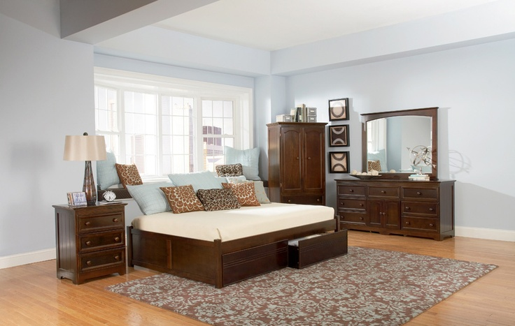 Najarian Nba Youth Bedroom In A Box: 56 Best Images About Platform Beds On Pinterest