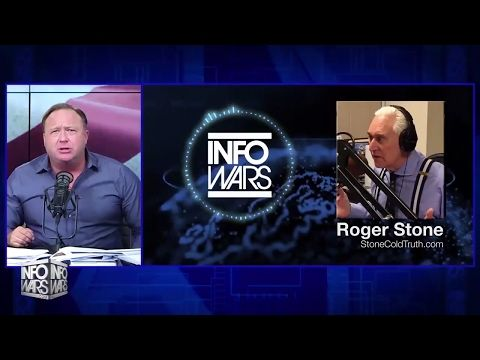 Roger Stone And Alex Jones Discuss Latest Political Developments - YouTube