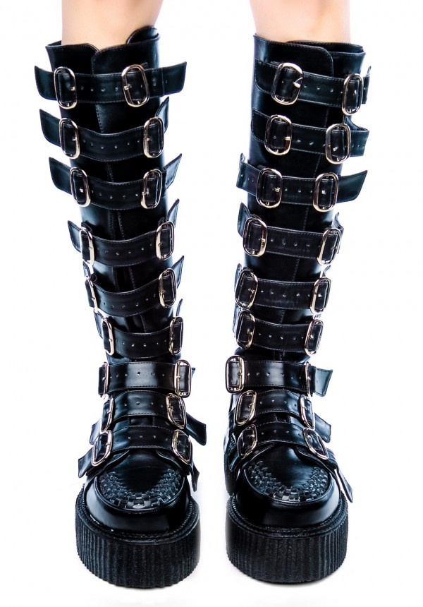 demonia creeper boots I would LOVE a pair of these