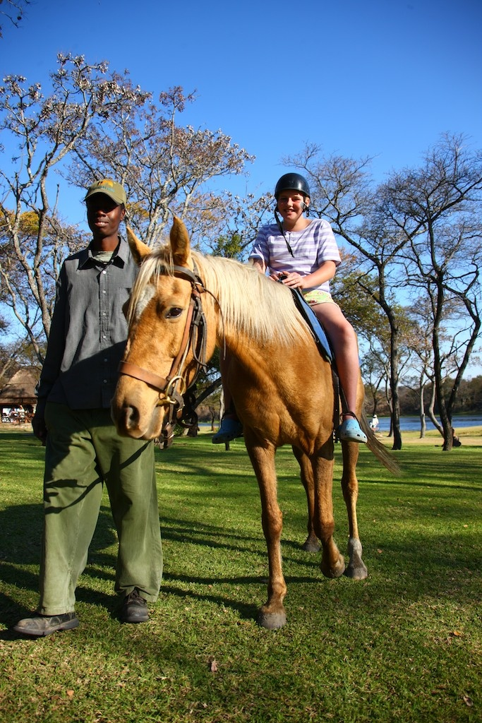 Riding is a great activity for the children as well as the adults!