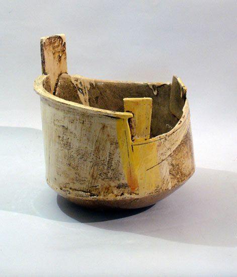 Ceramics by John Higgins at Studiopottery.co.uk - 2014. Pot 2:H30xD30cm.