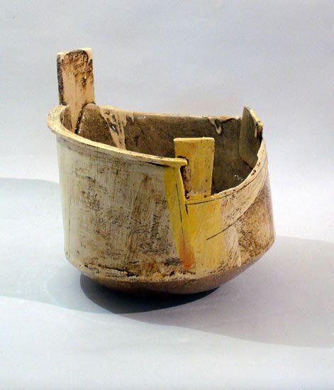 Ceramics by John Higgins at Studiopottery.co.uk - 2014. Pot 2:H30xD30cm.