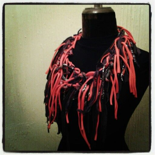 Collar con Tela:: Made to Hand