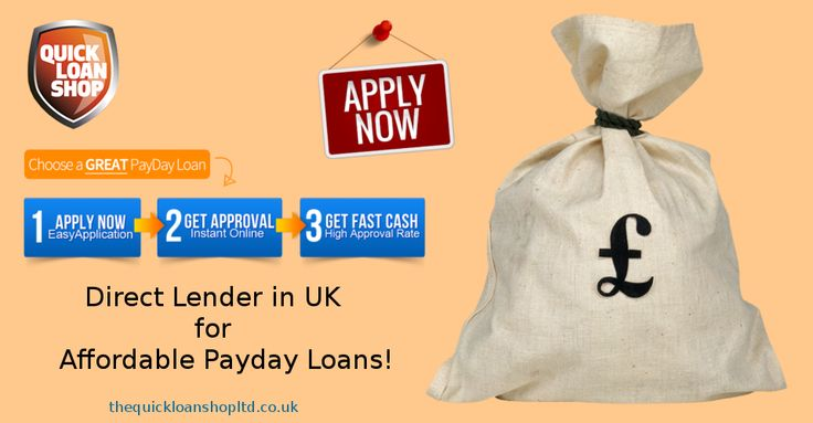Direct Lender in UK for Affordable Payday Loans: TheQuickLoanShopLtd