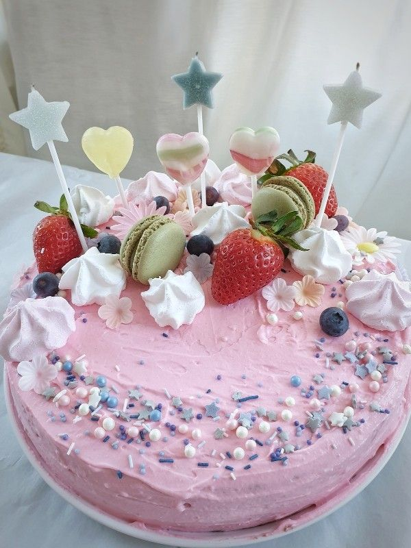 Candy Cake Ohne Backen