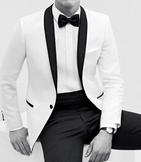 #mensfashion #style #white #tux #classic