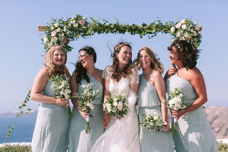 Santorini glam weddings - Vineyard Santorini Wedding