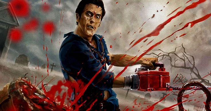Original 'Evil Dead 4' Story Finally Revealed by Sam Raimi -- Sam Raimi shares the plot of 'Evil Dead 4' had it gone forward instead of the TV series 'Ash vs Evil Dead'. -- http://movieweb.com/evil-dead-4-story-sam-raimi/