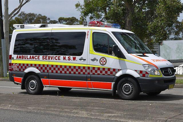 Ambulance from Sydney, New South Wales, Australia.