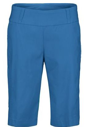 Draw this as a ladies pull on short.  Add slash pockets below waistband and add silver tehama grommets below the opening.
