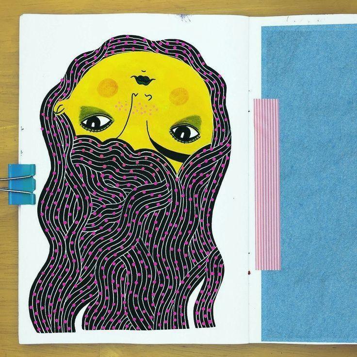 #illustriertes #skizzenbuch #zeichnungen #damenalbum #verwandeln