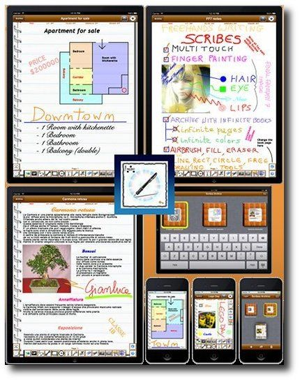 """Do you think that writing with a pen is faster than writing with the keyboard? """"Scribes PRO"""" is the right application for You!"""