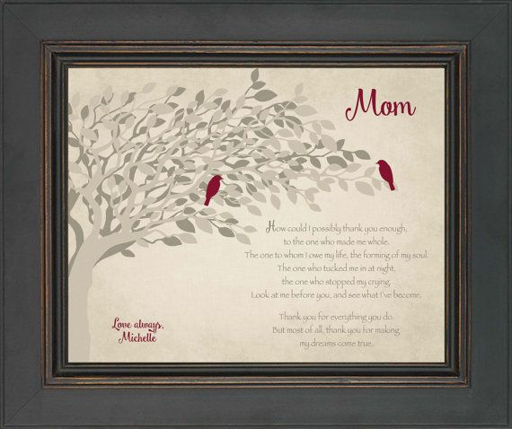Gift For Mom From Daughter Wedding Day By Kreationsbymarilyn