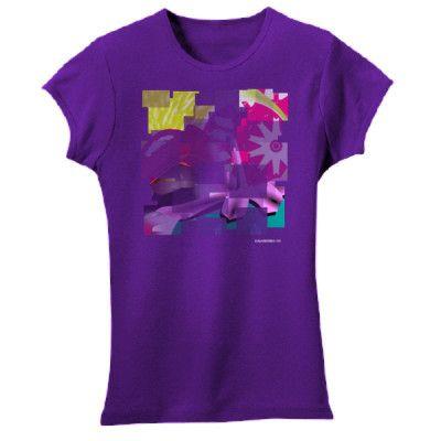 "Ethical Fashion T Shirts for Girls by Salamanda Co -""Loopy Froot"" - Salamanda Co"