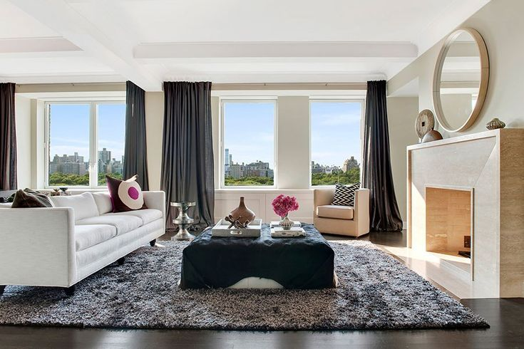 STATS 5 BEDROOMS 4.5 BATHS 4,020 SQ. FT. $12 MILLION  The airy Upper East Side apartment that's been home to New York Knicks star forward Carmelo Anthony and his wife, television personality La La Anthony, is on the market.