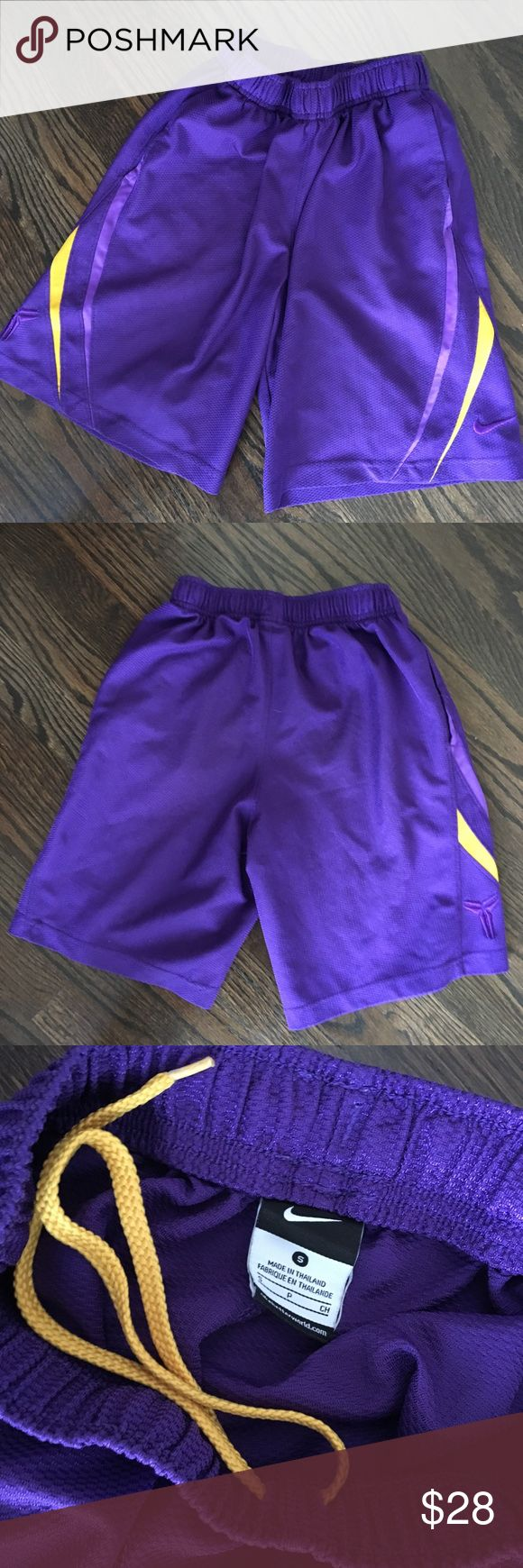 Nike Shorts Nike Kobe Shorts Made In Dry Fit material In great condition Nike Bottoms Shorts