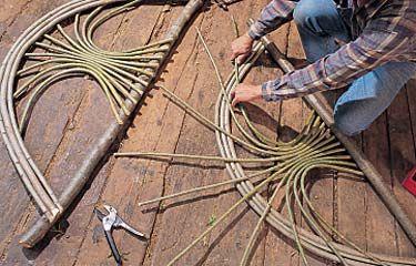 How to Build a Sapling Arbor