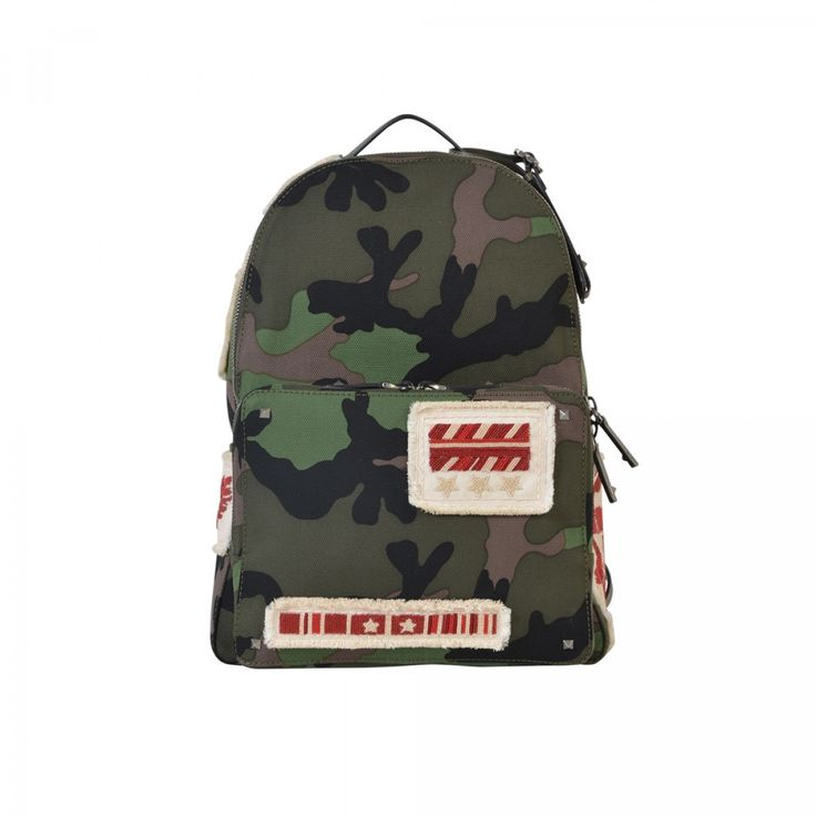 VALENTINO GARAVANI BACKPACKS Militare