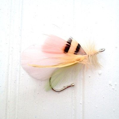 Vail fly fishing wedding boutonniere hook by Bluespruceflycompany