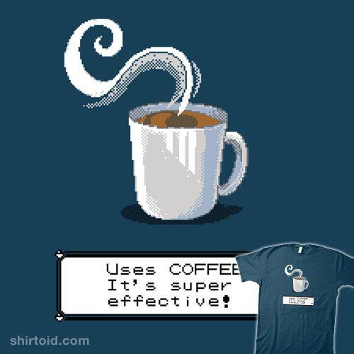 Coffee, super effective! #coffee #gaming #pokemon #tonyramos #videogame
