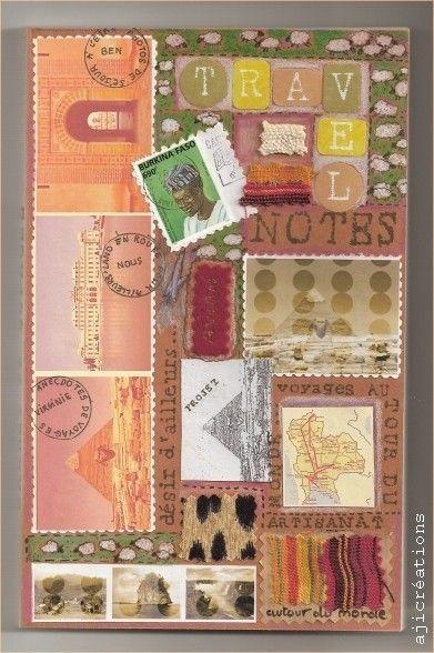couverture de carnet de voyage carnet de voyage pinterest voyage photos et note. Black Bedroom Furniture Sets. Home Design Ideas