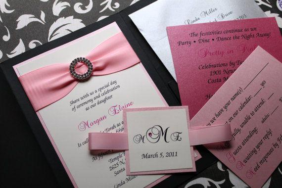 16 best wedding invitations images on pinterest invites card elegant wedding invitation classic wedding by decadentdesigns 700 stopboris Choice Image