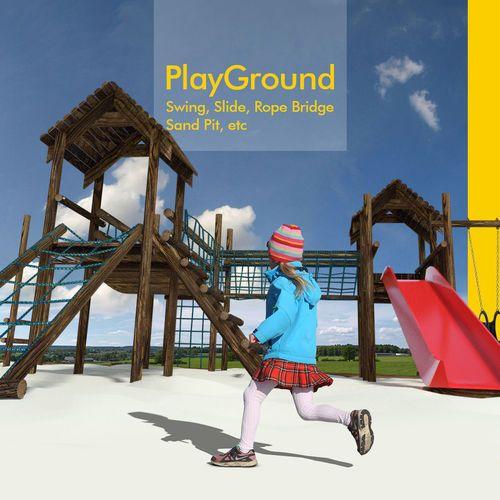 Playground for children | 3D model