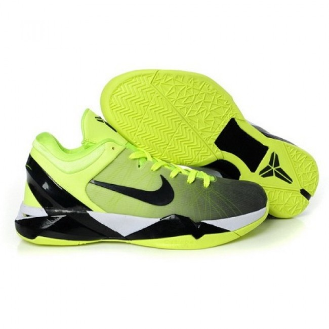 Latest Nike Zoom Kobe 7 VII iD Fade Option Grass Green Men Basketball Shoes  For $75.80