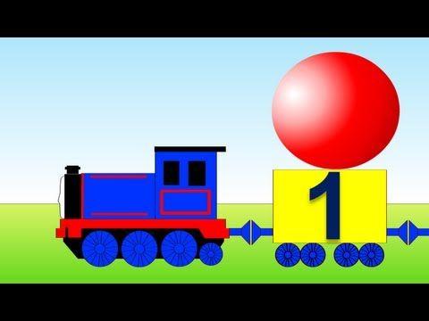 Учимся считать от 1 до 10 и обратно. Математика для  малышей. Развивающий мультик. - YouTube\  https://www.youtube.com/watch?v=AMtbjdHWqnk