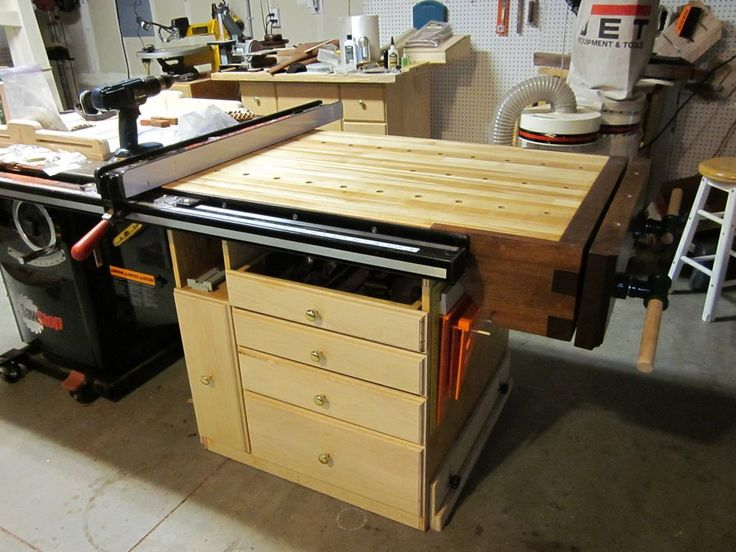 13 Best Images About Tablesaw Outfeed Table On Pinterest