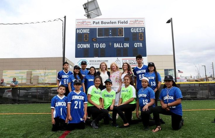 Boys & Girls Clubs of Denver dedicate new playing field in honor of Pat Bowlen