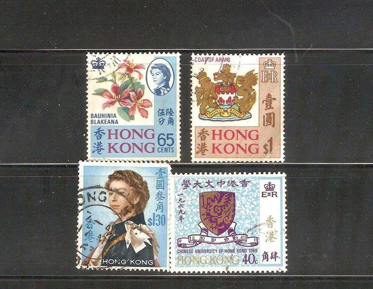 Stamps HONG-KONG period 1962-1969