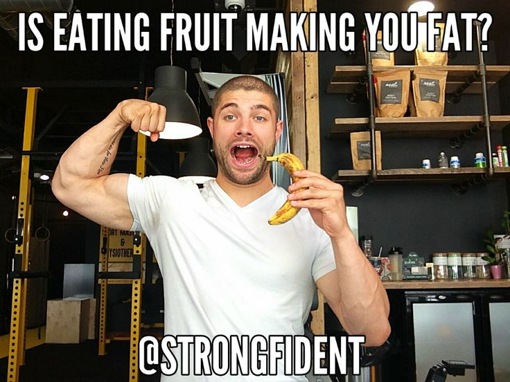Fruit. Should you eat it or shouldn't you? Is it a healthy food source or is it…