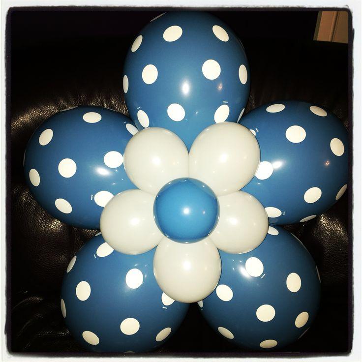 Polka dot flower balloon