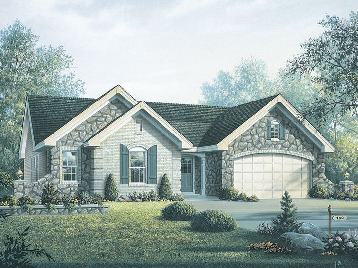 French Country Ranch House Plans 134 best house plans images on pinterest | home, family room