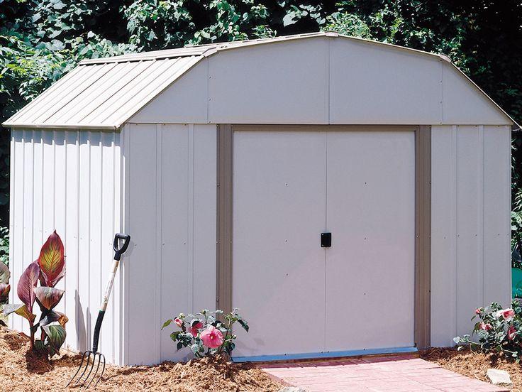 Lexington 10 Ft W X 8 Ft D Metal Storage Shed Metal Storage Sheds Steel Storage Sheds Shed