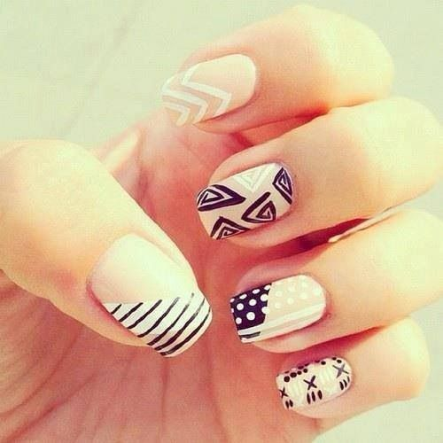 Cool cool cool! Liebe diese nails